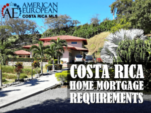 Requirements for a mortgage