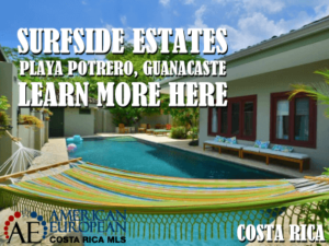 Surfside Estates real estate in Potrero Beach Costa Rica