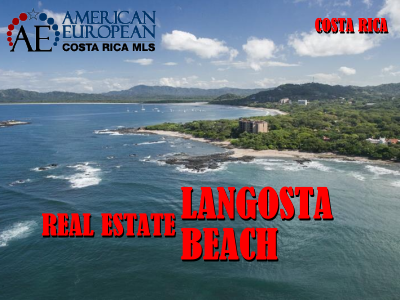 Real Estate Langosta Beach in the North Pacific