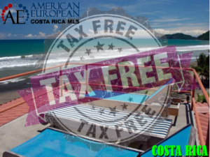 Invest tax free in a Costa Rican vacation home