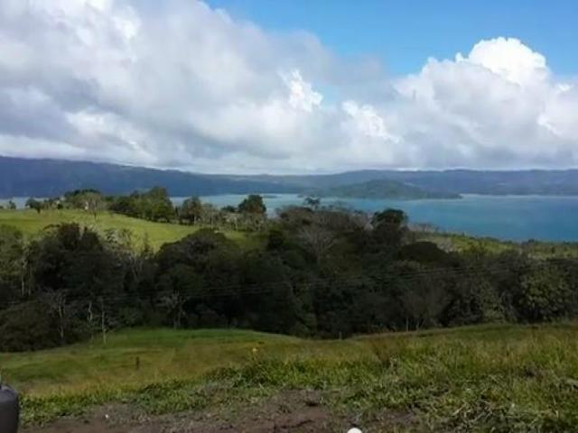 Lake Arenal view lots for sale