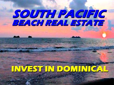 South Pacific beach real estate