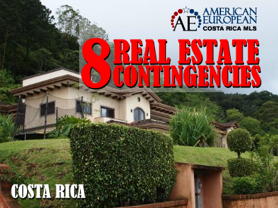8 Real estate contingencies Costa Rica
