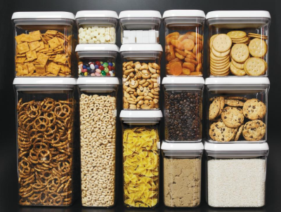 Stackable plastic containers for your kitchen in Costa Rica