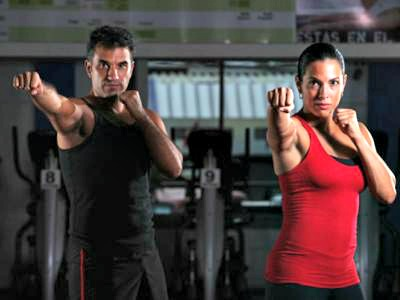 Body combat classes at Arena Trek gym