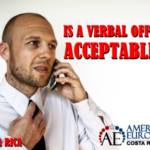 Is a verbal offer acceptable in Costa Rica real estate