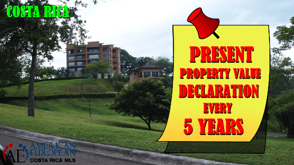 Mandatory property value declaration in costa rica costa for Costa rica home prices