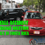 .A small car accident – only in Costa Rica