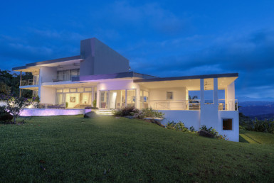 Spectacular Contemporary Panoramic Ocean View Estate in Dominical