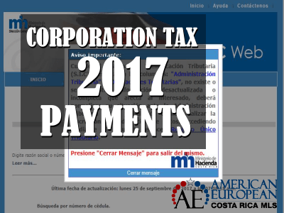 Corporation Tax 2017 payments can be made now
